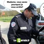 La Lorraine et le gendarme