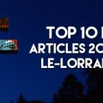 Top 10 des articles 2015 sur le-lorrain.fr