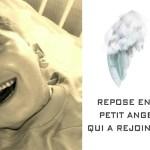 Le message émouvant de Mathieu pour son fils de 4 ans qui a rejoint les anges