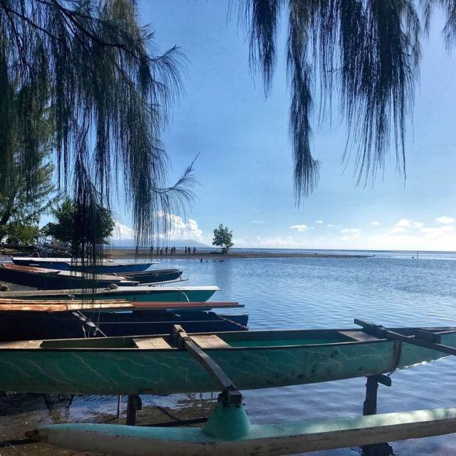 Prenez le large en pirogue tahiti pirogue island paradise beachhellip