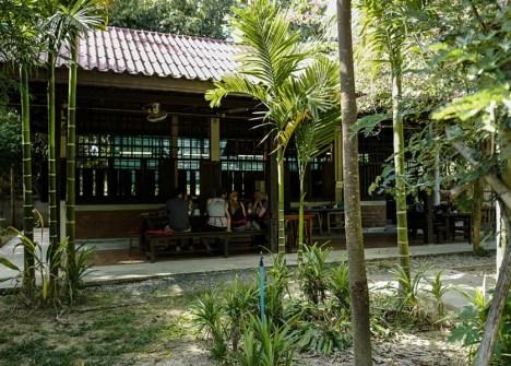 exterieur cours de cuisine en thailande