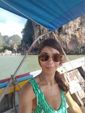 Mélody à la découverte de la baie de Phang Gna