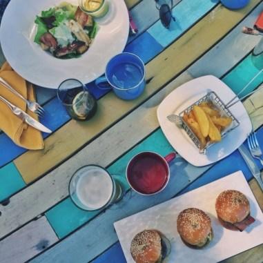 Déjeuner au Lagoon Bar