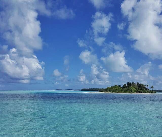 Blue lagoon oovatu frenchpolynesia thebrandoresort beautifulplace blue polynesie voyage travelhellip