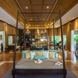 Le salon du Tea Time, une véritable institution dans l'hôtel