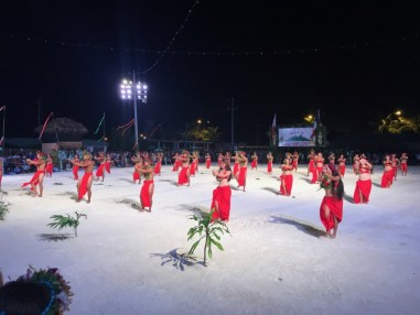 Soirée d'ouverture du Heiva à Bora Bora