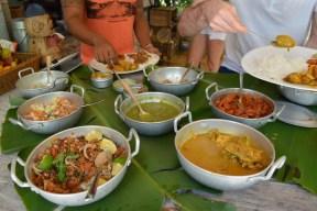Déjeuner typique mauricien
