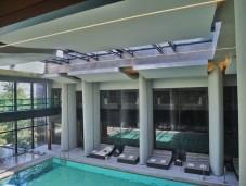 La piscine du spa du Six Senses