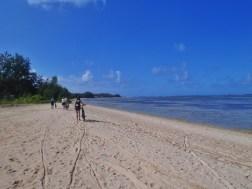 Passage par la plage