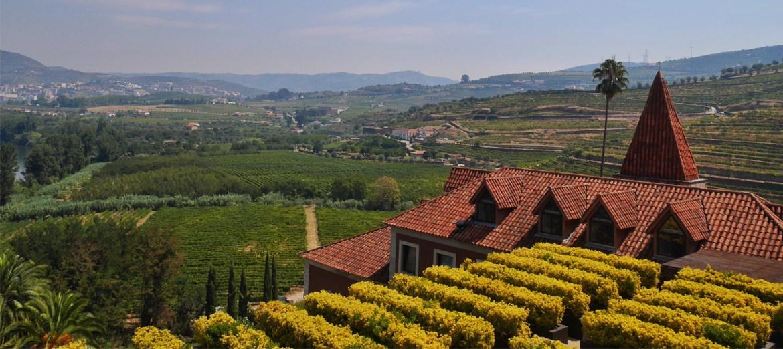 L'environnement du Six Senses Douro