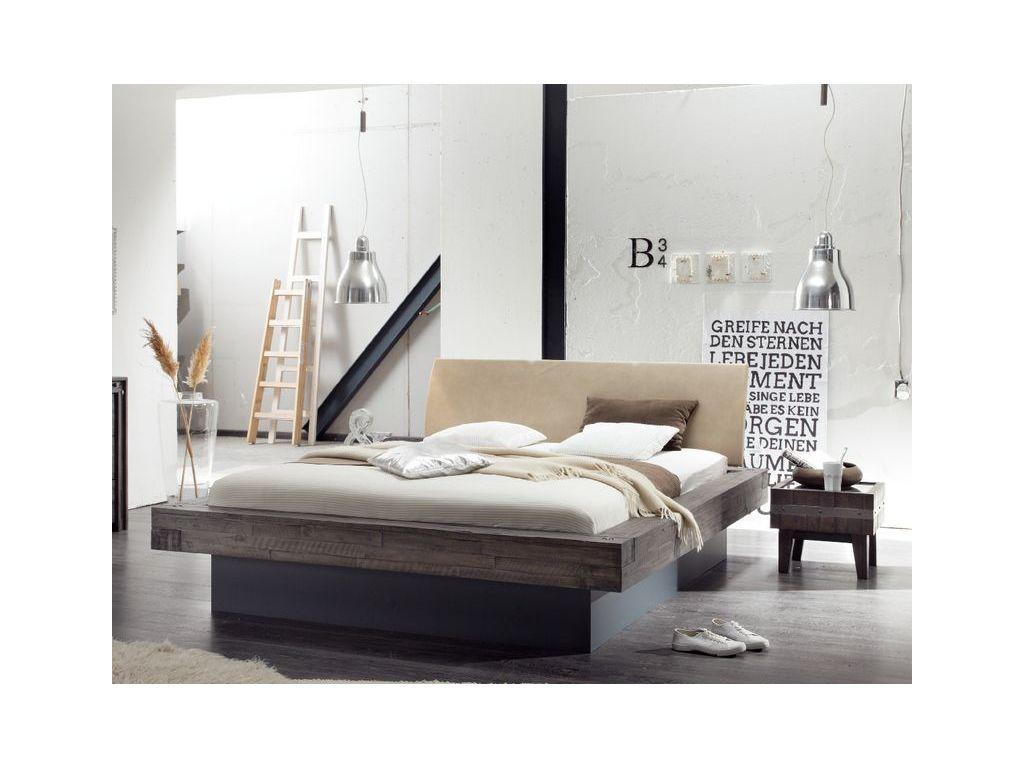 lit coffre lecco en acacia massif hasena fabricant suisse meuble pour la chambre le monde du lit