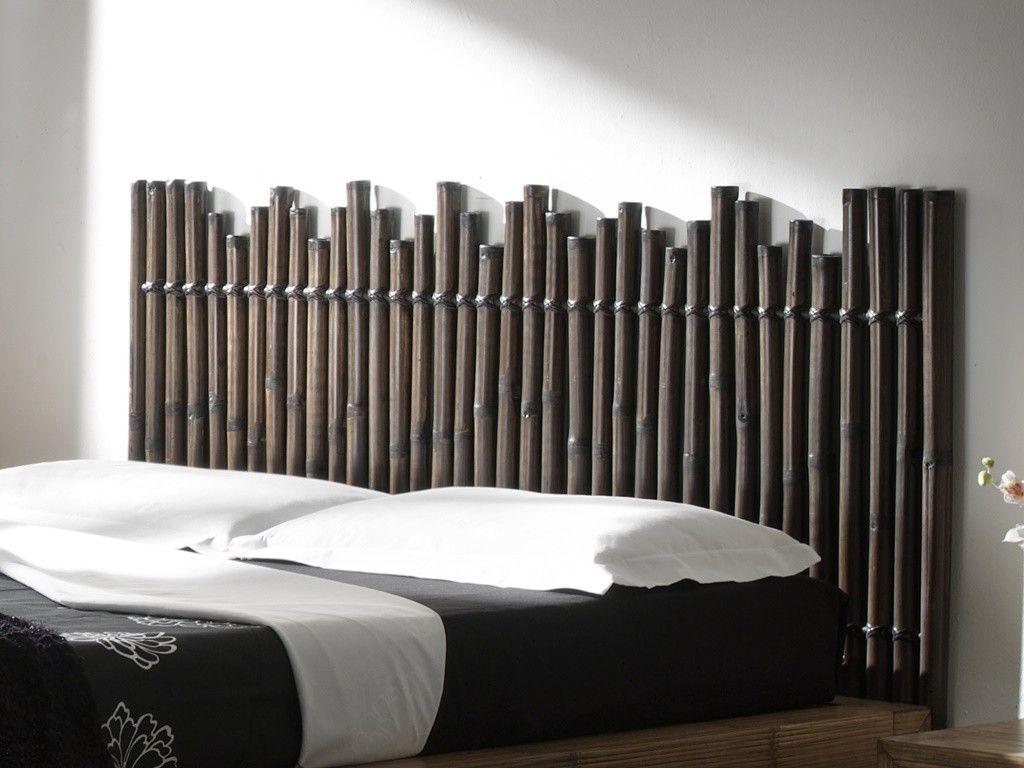 tete de lit ile de borneo en bambou haut de gamme meuble pour la chambre a coucher le monde du lit