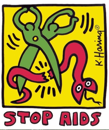 Keith Haring, AIDS 2