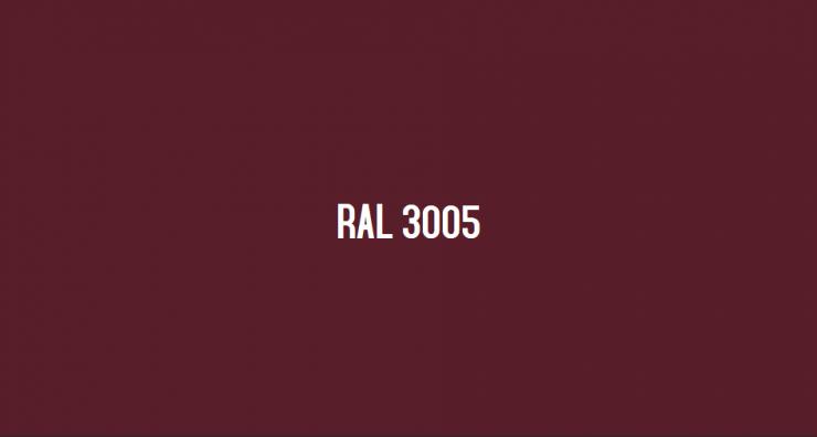ral 3005 rouge vin le nuancier