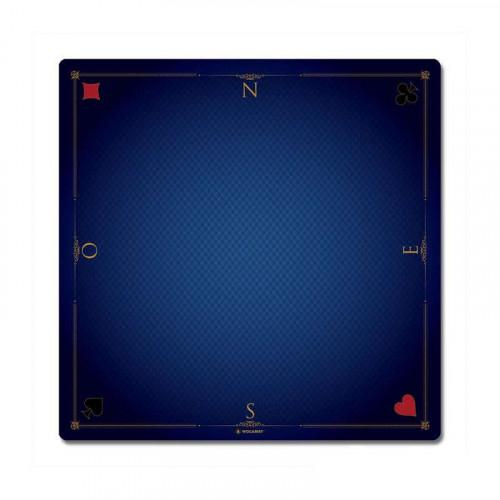 tapis 60x60cm prestige bleu