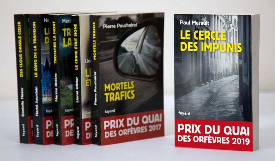 Prix du Quai des Orfèvres 2019, Le cercle des impunis – Fayard