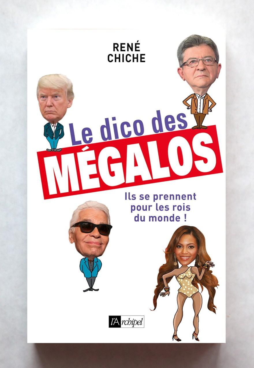 Le dico des Mégalos aux Éditions de l'Archipel, février 2019