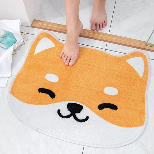 Tapis de bain Shiba Inu