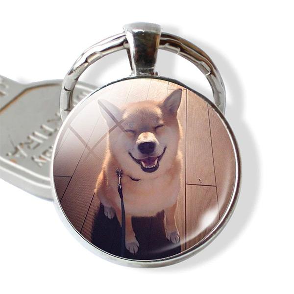 Porte clé shiba