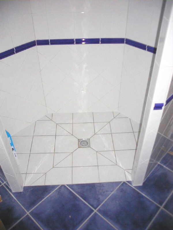 comment carreler une douche carrelage