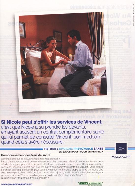 Publicité pour Malakoff