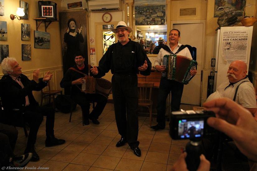 Spots to Visit in Paris, France: Bar Restaurant Musette Le Vieux Belleville ⋆ Le Vieux Belleville