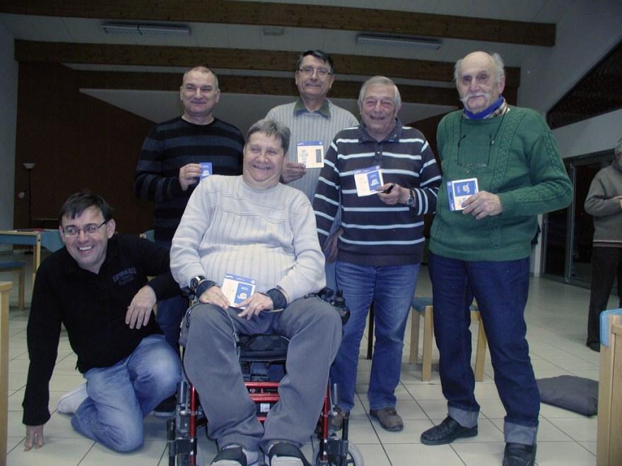 Les lauréats du classement aux points T1