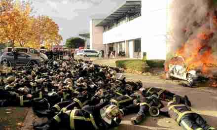 Toulouse : les pompiers maintiennent leur mouvement de grève