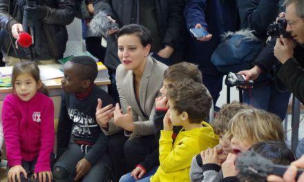La ministre de l'éducation s'invite sur les bancs de l'école occitane