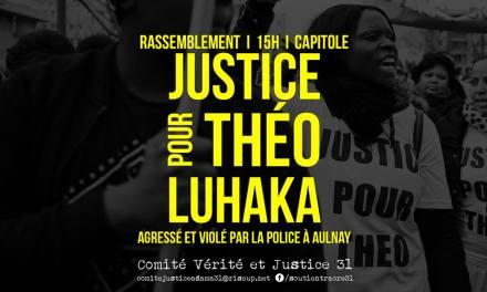 Affaire Théo : Un rassemblement de soutien organisé samedi à Toulouse