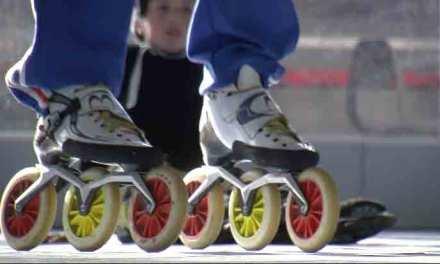 [Vidéo] Le Champion du Monde de patinage Pascal Briand en visite chez les Hocklines