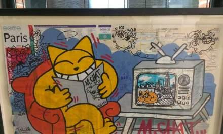 [VIDEO] M. Chat fait ses griffes aux Muséum