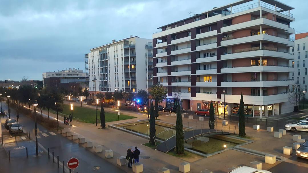 Incendie d'un scooter à Toulouse