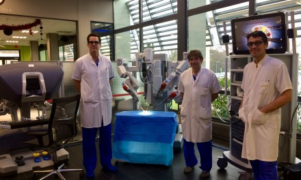 La chirurgie robotique s'invite à la clinique Les Cèdres