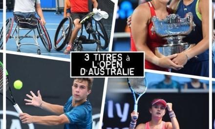 Les Français triomphants à l'Open d'Australie