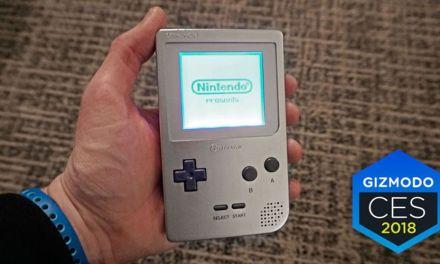 La Game-Boy de Nintendo rééditée par une société américaine