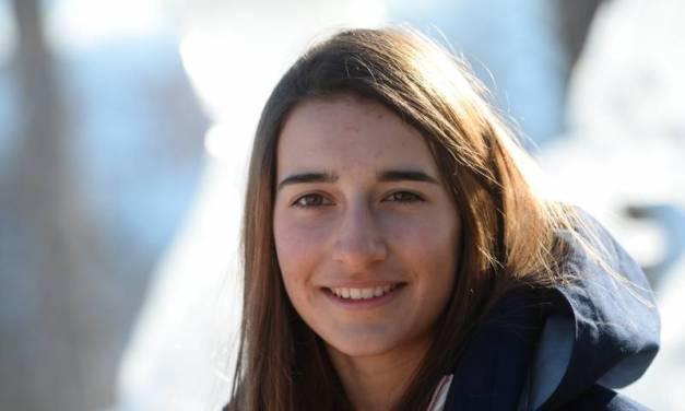Incroyable Perrine Lafont, l' Occitanie en OR.