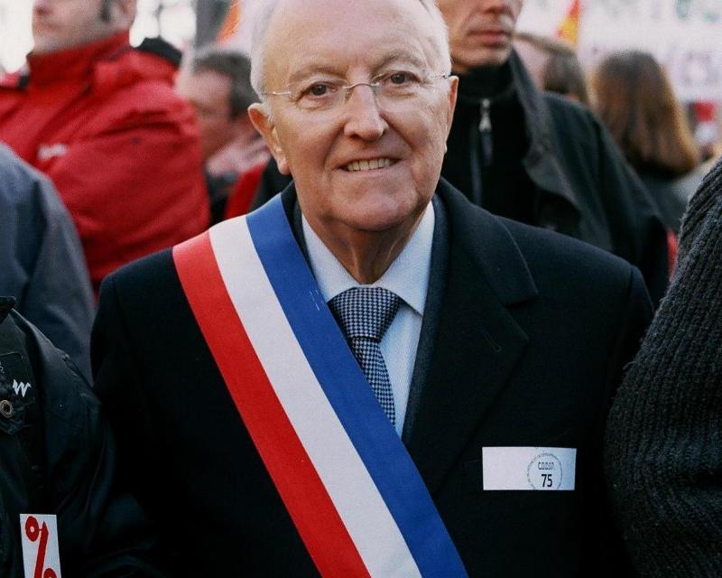 Georges Sarre, le père du permis à point est décédé
