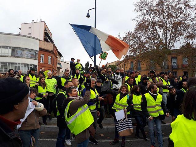 Lors des manifestations des Gilets jaunes de nombreux journalistes ont été agressé./ Crédits : Emmanuel Clévenot
