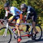 Lucas, cycliste non-voyant, cherche partenaire particulier