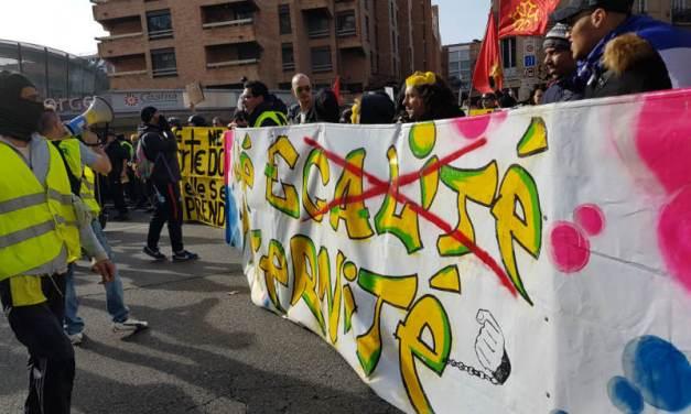 [PHOTOS] Retour en images sur l'acte XIII des Gilets jaunes à Toulouse