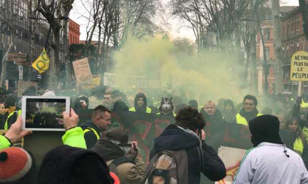Acte XII des «Gilets jaunes» à Toulouse : trois cortèges pour une journée de mobilisation