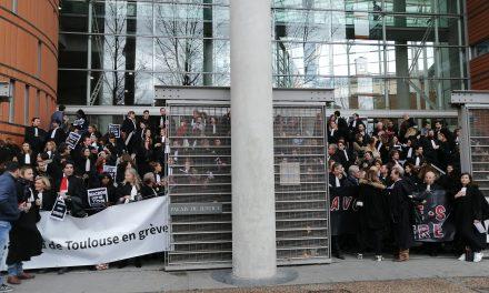 Retraites : Nouvelle mobilisation des avocats à Toulouse