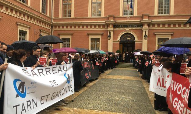 Grève des avocats : plus de 70 % affaires ont été renvoyées à Toulouse