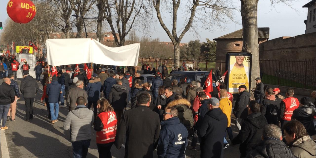 [VIDÉO] Le récap' de la journée de manifestation du 29 janvier à Toulouse