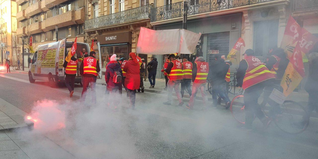 Manifestation à Toulouse : une après-midi d'affrontements
