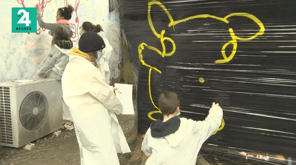 Toulouse : rap, beatbox et graffiti pour les enfants