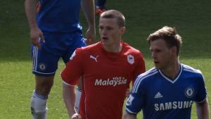 Jusqu'à la saison 2019-2020, Rhys Healey évoluait dans les équipes anglaises. Crédit : CC-BY-SA 2.0/Jon Candy