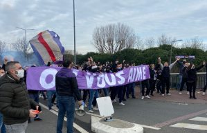 Le TFC s'est qualifié pour les 32ème de finale de la Coupe de France toujours avec le manque des supporters. Crédit : Bastien Rodrigues