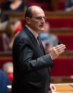 Jean Castex doit annoncer un durcissement du confinement lors de sa conférence de presse. Crédit : Gouvernement